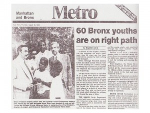 Fred Singleton was a Bronx River Restoration Project manager & photographer